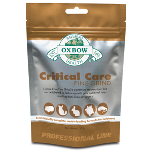 OXBOW HEALTH 015OXP01-3-5 Oxbow Critical Care Fine Grind 100 g