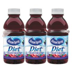 Ocean Spray Cranberries 00158 Cranberry Grape Juice Drink 10 oz. Bottle