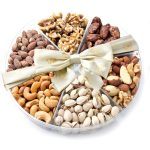 Oh! Nuts 69393-1 6 Section Nuts - 1 lbs. Gift Tray