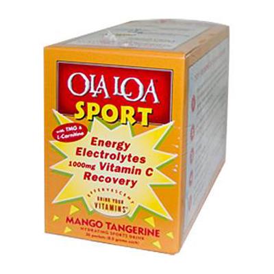 Ola Loa Products 0833178 Sport Mango Tangerine - 30 Packets