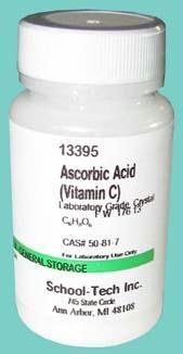 Olympia Sports 13395 Ascorbic acid - vitamin c lab grade crystal