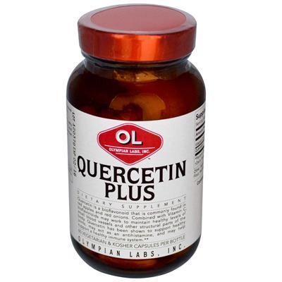 Olympian Labs 0391250 Quercetin Plus - 1 g - 60 Vegetarian Capsules