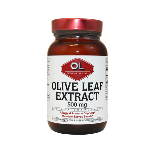Olympian Labs 1214337 Olive Leaf Extract Capsules 500 mg - 60 Count