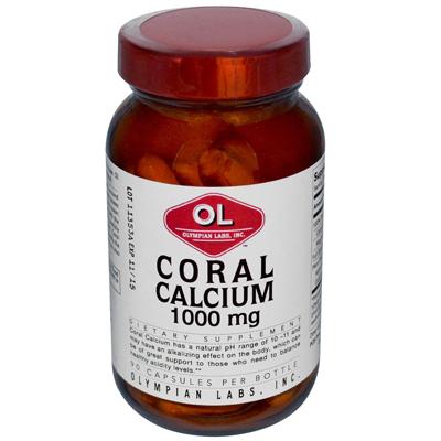 Olympian Labs Coral Calcium - 1 G - 90 Capsules