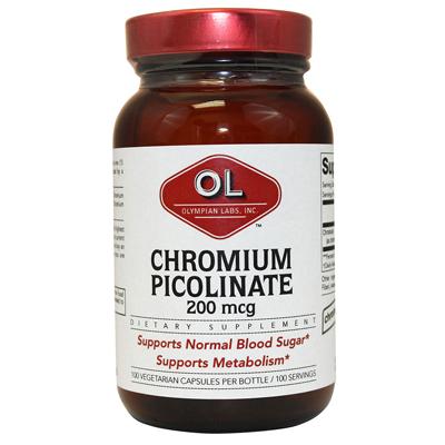 Olympian Labs Super Chromium Picolinate - 200 mcg - 100 capsules