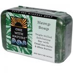 One With Nature Dead Sea Mineral Hemp Soap - 7 Oz - SPu650291