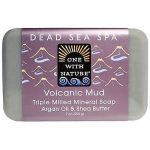One with Nature 1841659 7 oz Volcanic Mud Soap Case of 6