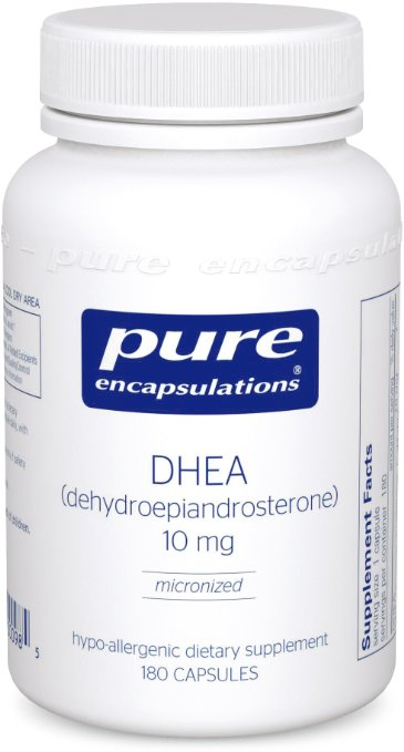 Only Natural 0525691 DHEA Capsules 99 Percent 10 mg - 60 Count