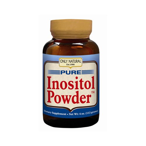 Only Natural 0525873 Pure Inositol Powder 4 oz