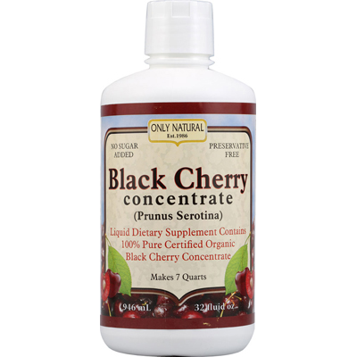 Only Natural 0723494 Organic Black Cherry Concentrate - 32 fl oz