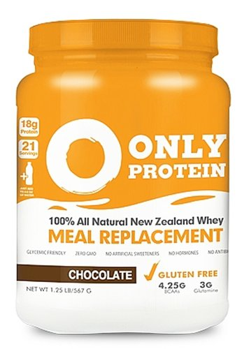 Only Protein Chocolate Meal Replacement Jug 21sv - ONLYMEAL21SVCHOCPW