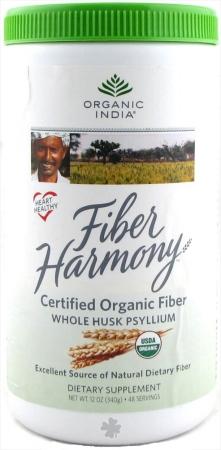 Organic India 40692 Organic Psyllium Husks Canister