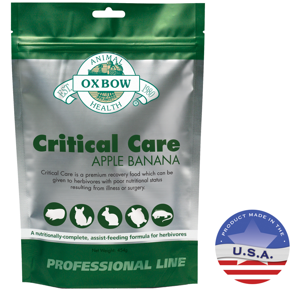 Oxbow Animal Health 015OXP01-AB-1 454 g Apple Banana Critical Care