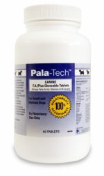 PALATECH 015PAL02-60S Pala-Tech™ Canine F-A Plus Chew Tabs for Small Dogs 60 Count