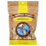 PLENTIFUL PLANET FRUIT BANANA CHIP BAG-8 OZ -Pack of 6
