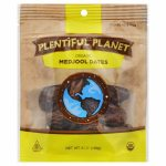 PLENTIFUL PLANET FRUIT DATE MEDJOOL BAG-6 OZ -Pack of 6