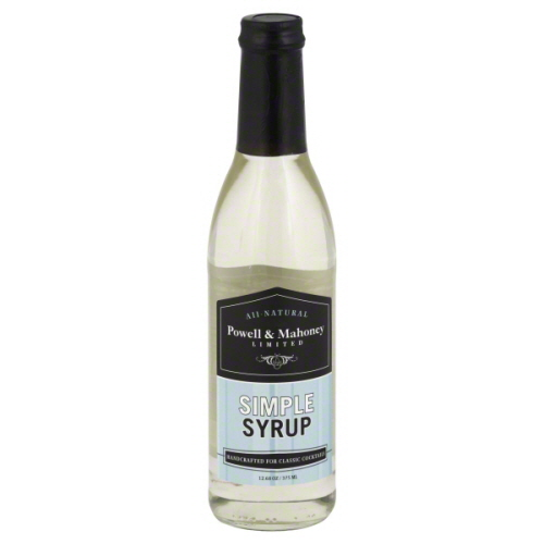 POWELL & MAHONEY SIMPLE SYRUP-375 ML -Pack of 6