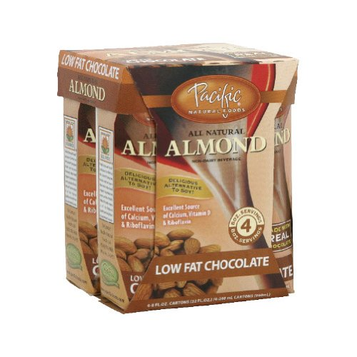 Pacifc Natural Foods 63474 Naturaly Almond Chocolate Low Fat Beverage