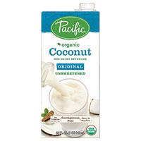 Pacific Natural Foods Organic Unsweetened Original Coconut Milk - 32 fl oz