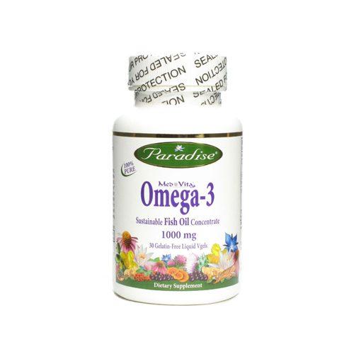 Paradise Herbs 1190883 Omega Vegetarian Capsules 30 Count