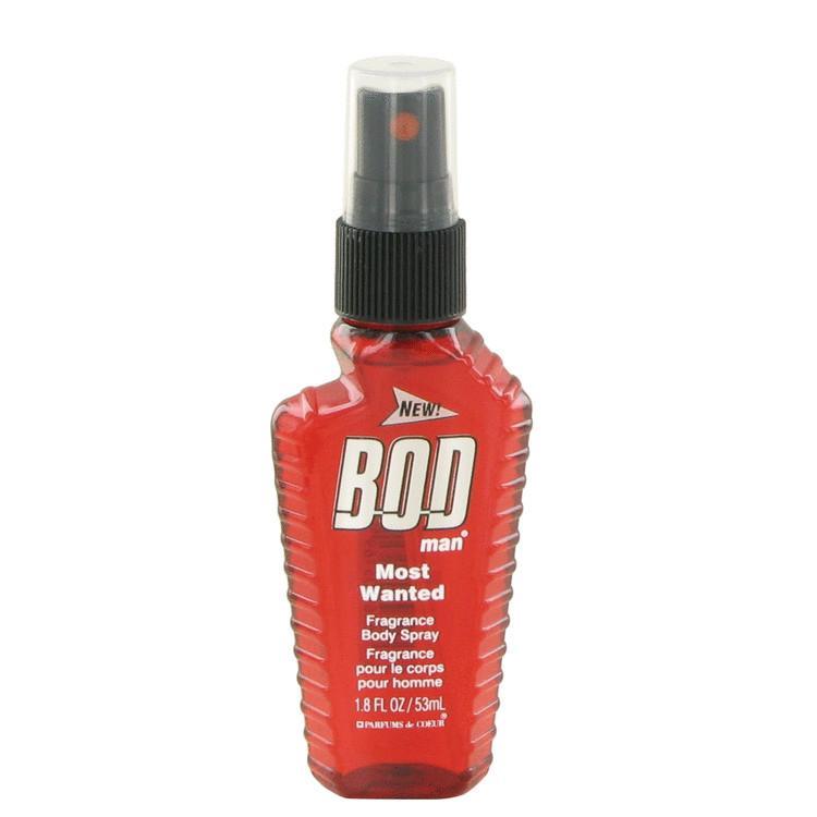 Parfums De Coeur 502441 Bod Man Most Wanted by Parfums De Coeur Fragarnce Body Spray 1.8 oz