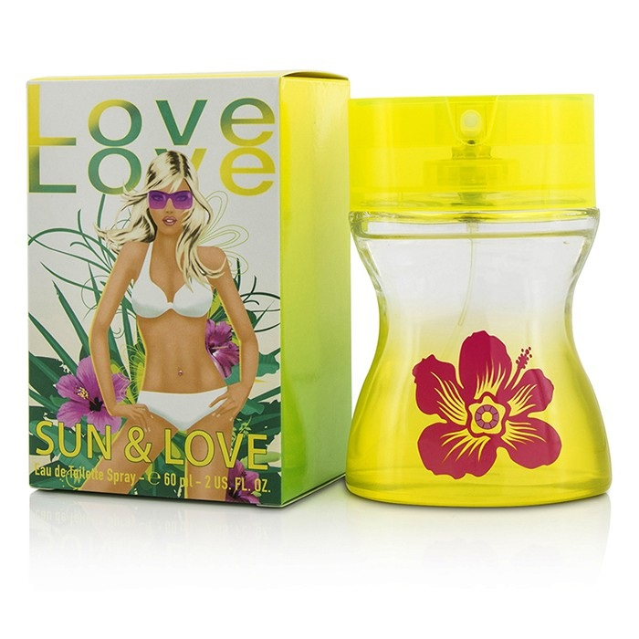 Parfums Love Love 204200 Sun & Love Eau De Toilette Spray