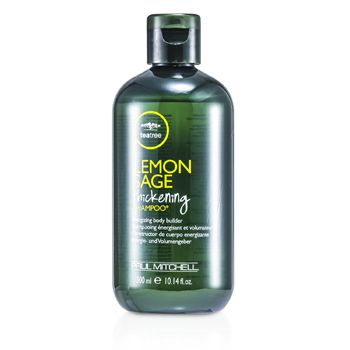 Paul Mitchell 107210 Tea Tree Lemon Sage Thickening Shampoo Energizing Body Builder
