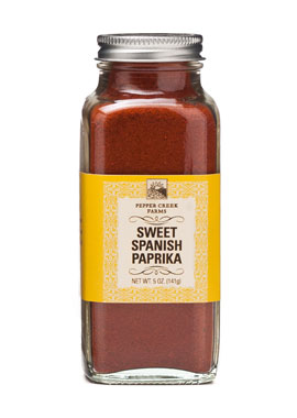 Pepper Creek Farms 70D Sweet Spanish Paprika - Pack of 6