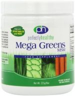 Perfectly Healthy 0592030 Mega Greens plus MSM Powder 8 oz