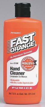 Permatex 7.5 Oz Fast Orange Hand Cleaner With Pumice 25108
