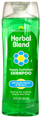 Personal Care 92063-7 Herbal Blend Happy Hydration Shampoo - 12 oz. Pack of 12