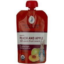Peter Rabbit Organics 52023 Peter Rabbit Organics Peach & Apple Fruit Snacks- 10x4 Oz