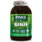 Pines International ECW1580315 Alfalfa Organic Tablets - 1 x 500 Tablets