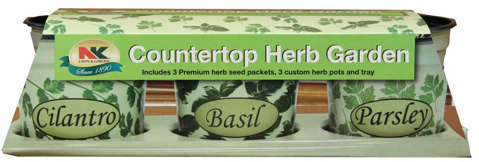 Plantation Products K3H Countertop Herb Garden Kit 7 Count `