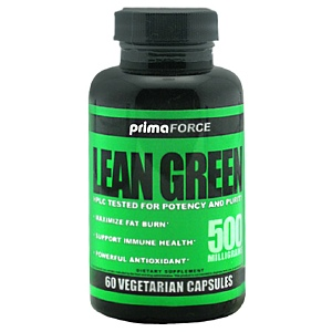 Primaforce 3750101 500 Mg. Lean Green 60 Capsules