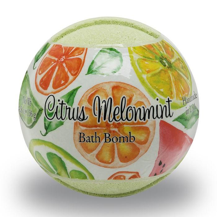 Primal Elements BOMBCMM Citrus Melonmint 4.8 oz. Bath Bomb