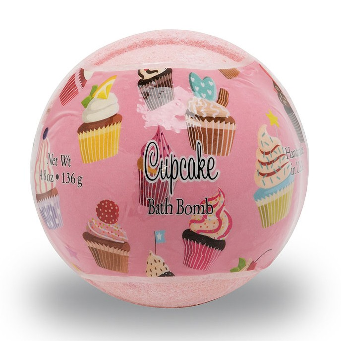 Primal Elements BOMBCUP Cupcake 4.8 oz. Bath Bomb