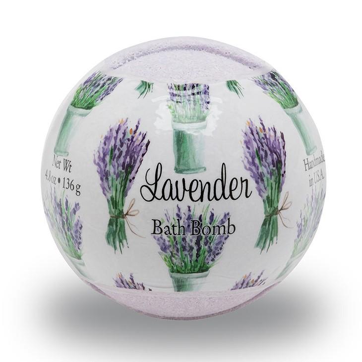 Primal Elements BOMBLEO Lavender 4.8 oz. Bath Bomb