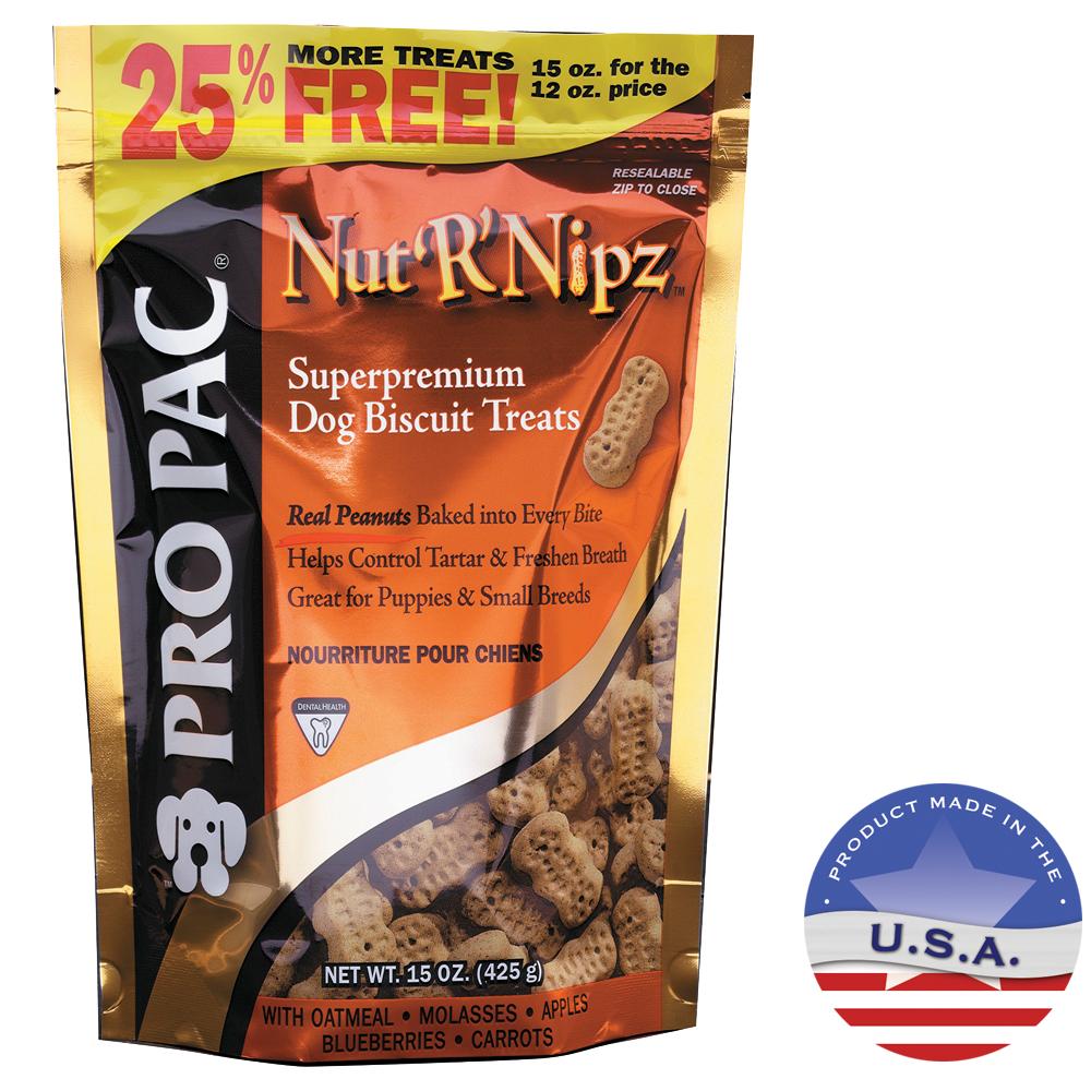 Pro Pac 030PP-71611 15 oz Pro Pac Nutr Nipz Treats