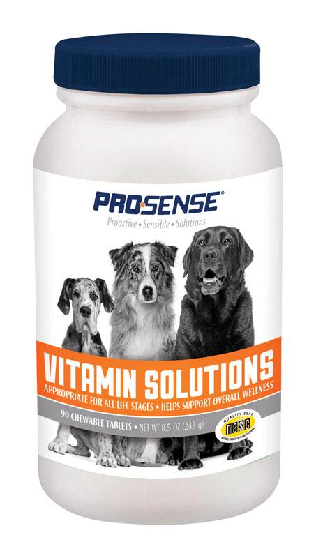 Pro Sense 8705303 8.5 oz Chewable Vitamins for Dog