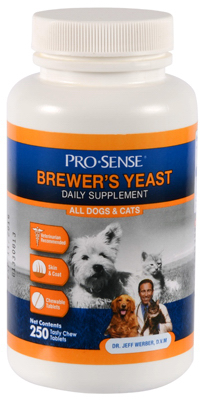 ProSense K1775 Brewers Yeast 250 Count