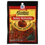 Produce Partners Mix Seasoning Salsa Spicy-0.7 Oz -Pack Of 12