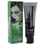 Pulp Riot U-HC-11676 4 oz Semi Permanent Absinthe Hair Color for Unisex Green