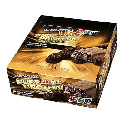 Pure Protein 0823203 Chocolate Deluxe 50 g - Case of 6