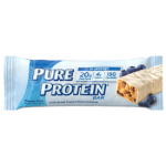 Pure Protein 1384502 Pure Protein Bar - Blueberry with Greek Yogurt Style Coating - 1.76 oz - Case of 6