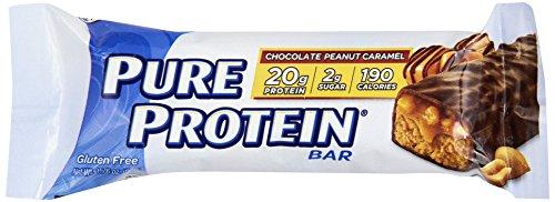 Pure Protein 440128 Chocolate Peanut Caramel - 6 Box