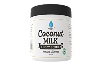 Pursonic CMBS14 14 oz Coconut Milk Body Scrub with Hydrate Sand