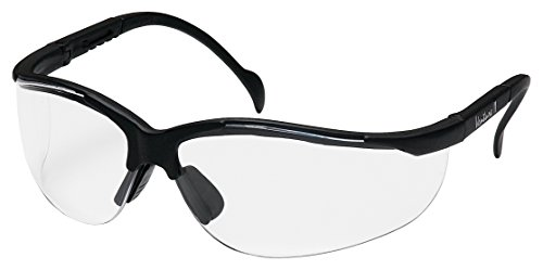 Pyramex Safety Products SB1810S Venture II Black Frame with Clear Lens Safety Glasses