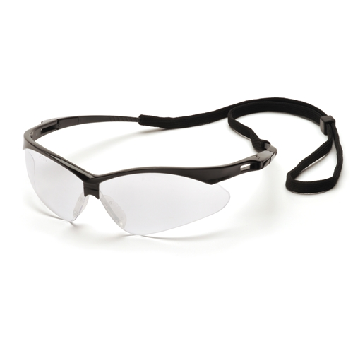 Pyramex Safety Products SB6310STP Pmxtreme Safety Glasses with Black Frame & Cord