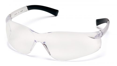 Pyramex Safety S2510ST Clear Anti-Fog Lens with Clear Temples